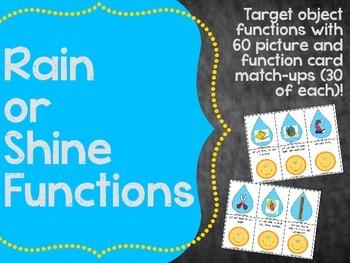 Rain or Shine Functions