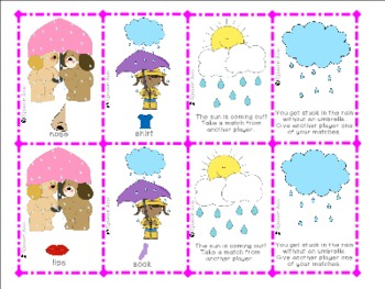 Rain or Shine Game: Compare/Contrast