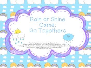 Rain or Shine Game: Go Togethers