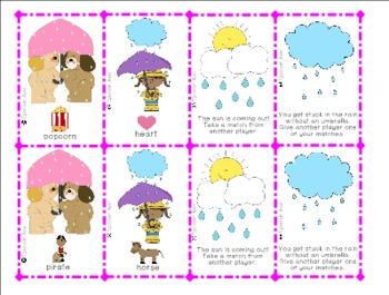 Rain or Shine Game: R,S,L Sentences