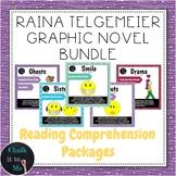 Raina Telgemeier Graphic Novel Bundle - Sisters, Drama, Gh