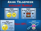 Raina Telgemeier Graphic Novel DISCOUNT BUNDLE-Save 50%