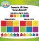 Rainbow 4 Piece Puzzles Clipart — Includes 24 Graphics!