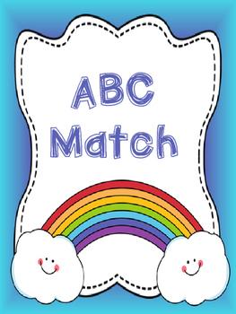 Rainbow ABC Match