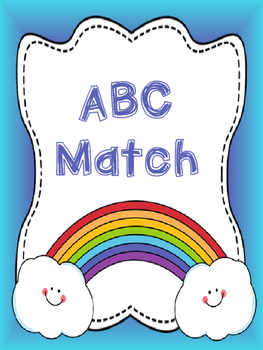Rainbow ABC Match