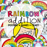 Rainbow Addition Printable Pack