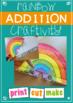 Rainbow Addition Craftivity