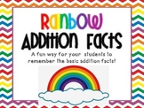 Rainbow Addition Facts