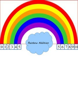 Rainbow Addition (Facts for 10)