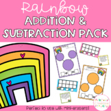 Rainbow Addition & Subtraction Pack