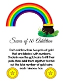 Rainbow Additions, Sums to 10