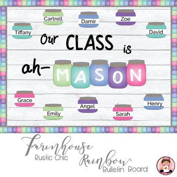 Farmhouse Mason Jar Classroom Worksheets Teaching Resources Tpt