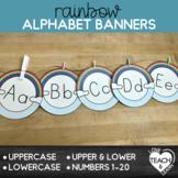 Rainbow Alphabet Banners