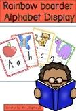 Rainbow Alphabet Boarder NSW font