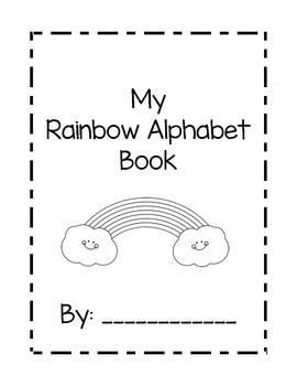 Rainbow Alphabet Book