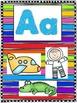 Rainbow Alphabet Cards