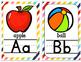 Rainbow- Alphabet Cards