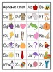 Rainbow Alphabet Chart in 3 Styles FREEBIE