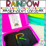Rainbow Alphabet Letter Tracing Cards *FREE*