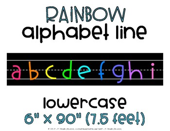 Alphabet Line Lowercase