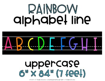 Alphabet Line Uppercase