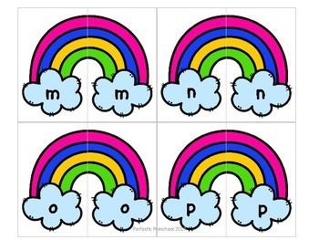 Rainbow Alphabet Match