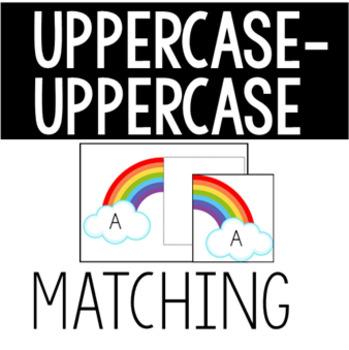 Rainbow Alphabet Match Task Box