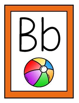 Rainbow Alphabet Posters