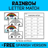Rainbow Alphabet Puzzle Literacy Center