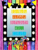 Rainbow Alphabet Wall Cards - Classroom Decor