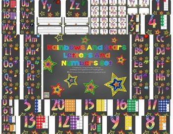 Rainbow And Stars Alphabet!
