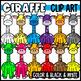 Rainbow Animal Clipart Bundle!