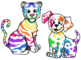 Rainbow Animals