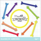 Rainbow Arrows Clip Art