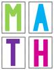 Rainbow Arrows Math & ELA Centers (Target Inspired)