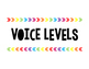 Rainbow Arrows Voice Levels (Target Inspired)