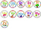 Bright Classroom Alphabet