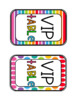 Rainbow BRIGHT Table Numbers
