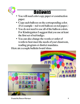 Rainbow Words Super Pack