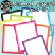 Rainbow Banded Papers & Borders BUNDLE