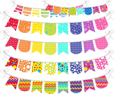 Rainbow Banner - Digital Clip Art Graphics for Personal/Co