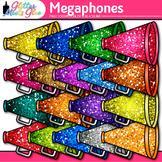 Rainbow Megaphones Clip Art | Sports Equipment for Physical Education