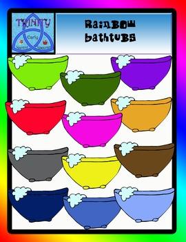 Rainbow Bathtubs