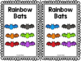 Rainbow Bats Emergent Reader & Centers