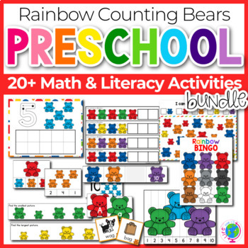 Rainbow Bear Counter Preschool Mega Pack