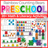 Rainbow Bear Counter Preschool Mega Pack