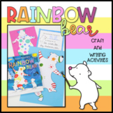 Rainbow Bear - Book Week Craftivity (Craft and Writing Activity)