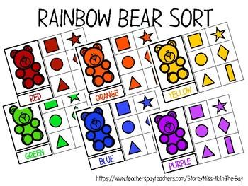 Rainbow Bear Sort