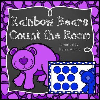 Rainbow Bears Count the Room