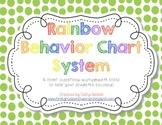 Rainbow Behavior Clip Chart System-Updated!